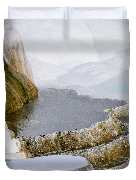 Mammoth Terraces Duvet Cover