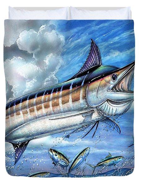 Marlin Queen Duvet Cover