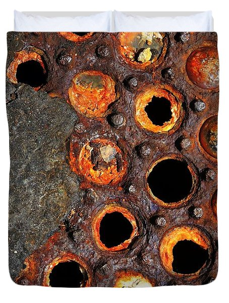 Matrix Duvet Cover by Skip Hunt