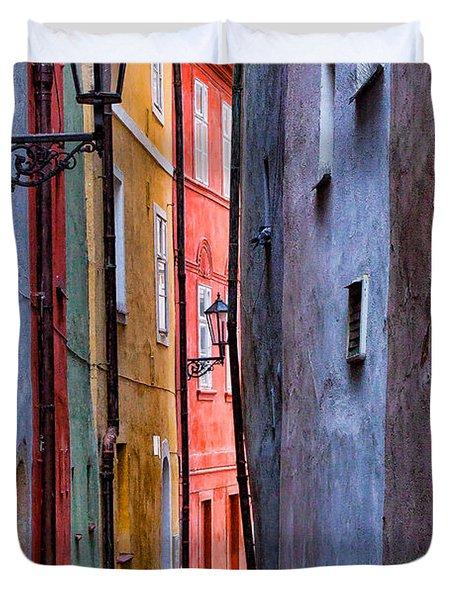 Medieval Alley Duvet Cover