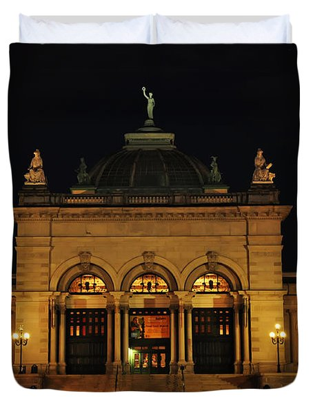 Memorial Hall - Philadelphia Duvet Cover by Bill Cannon