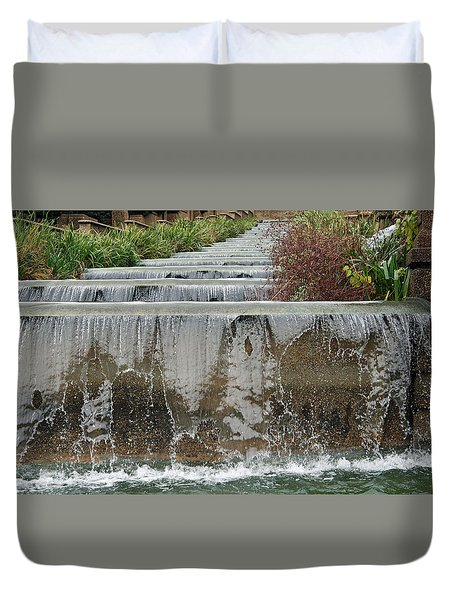Meridian Hill Park Duvet Cover by Cora Wandel
