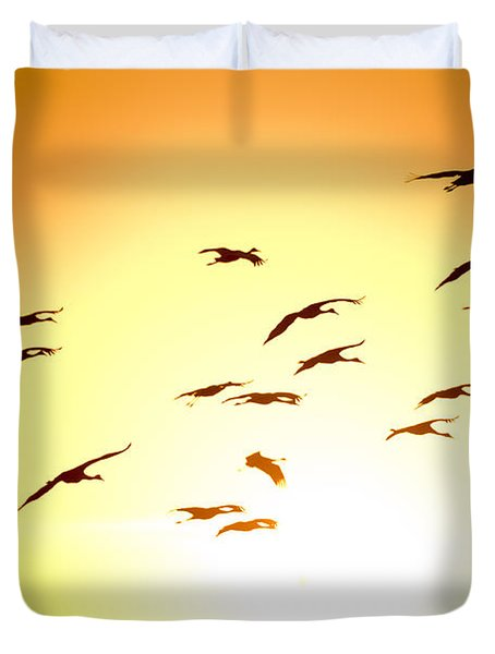 Migration Duvet Cover