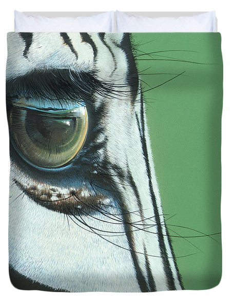 Mirror To The Soul Duvet Cover