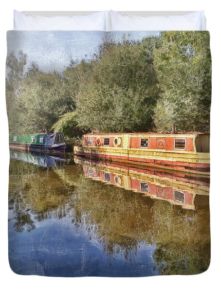 Moored Up Duvet Cover