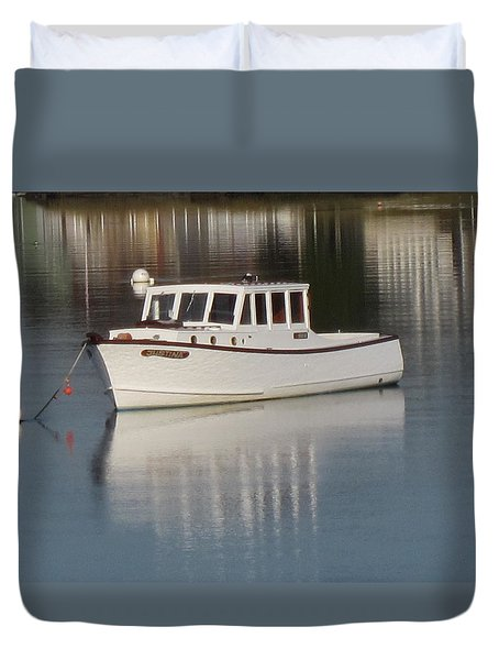 New Castle Bay Duvet Cover