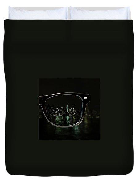 Night Vision Duvet Cover by Natasha Marco