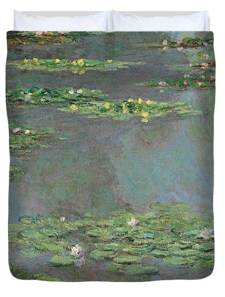 Nympheas Duvet Cover by Claude Monet