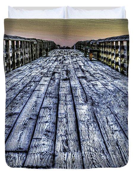 Old Pitt St Bridge Duvet Cover
