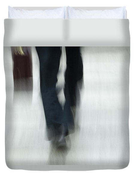 On The Go Duvet Cover by Karol Livote
