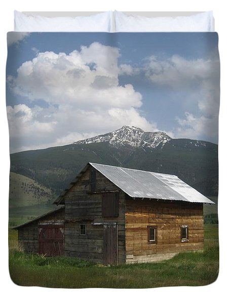 Paradise Valley Montana Duvet Cover