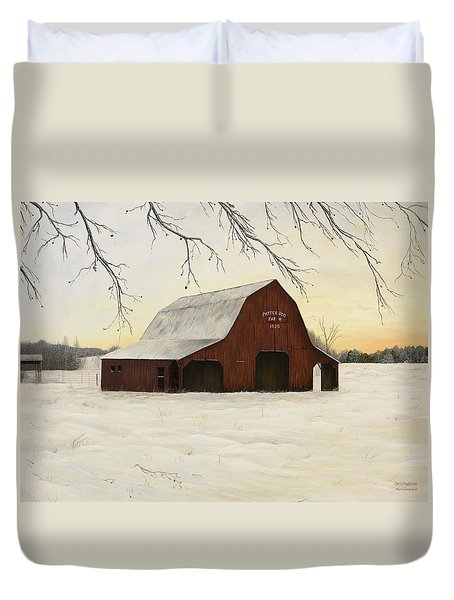Patterson Barn Duvet Cover by Mary Ann King