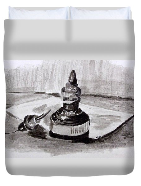 Pen And Ink Duvet Cover