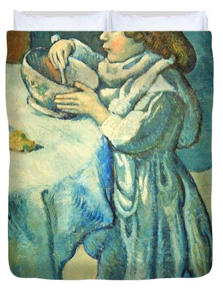 Picasso's Le Gourmet Duvet Cover