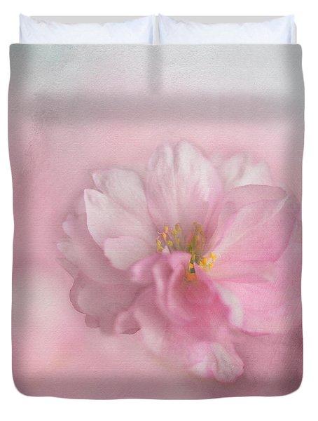 Pink Blossom Duvet Cover