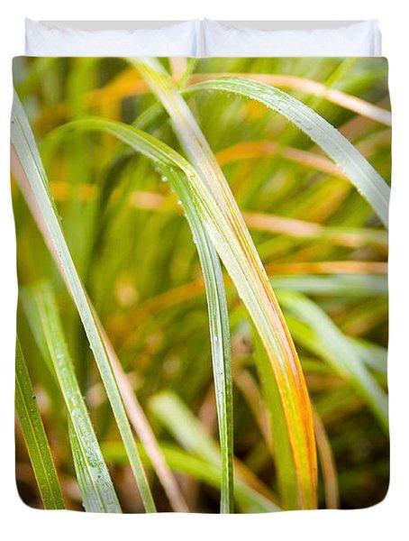Plant Details Duvet Cover by Tim Hester