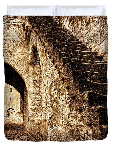 Pont Valentre / Cahors Duvet Cover