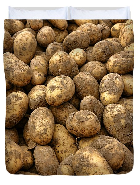 Potatoes Duvet Cover