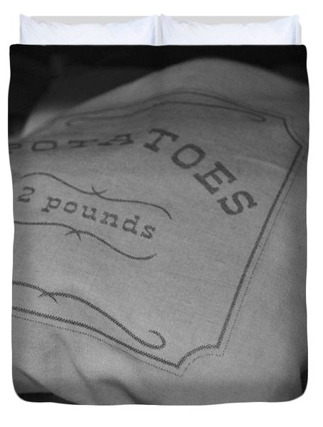 2 Pounds Of Potatoes Duvet Cover
