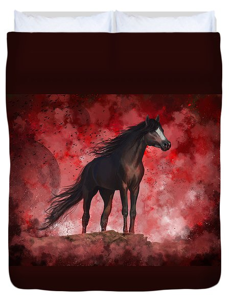 Protector Duvet Cover by Kate Black
