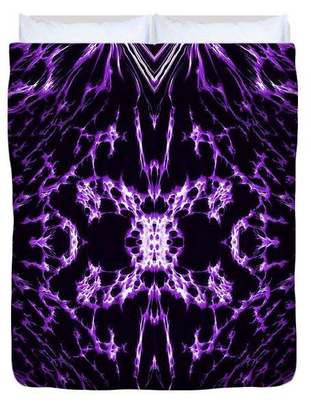 Purple Series 2 Duvet Cover by J D Owen