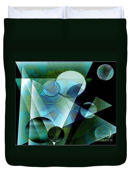 Quest Duvet Cover by Iris Gelbart