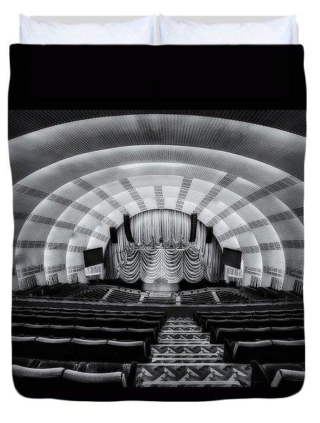 Radio City Music Hall Theatre Duvet Cover by Susan Candelario