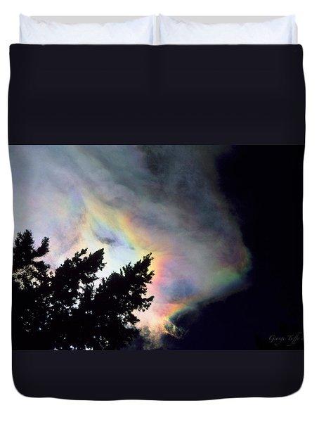 Rainbow Cloud Duvet Cover