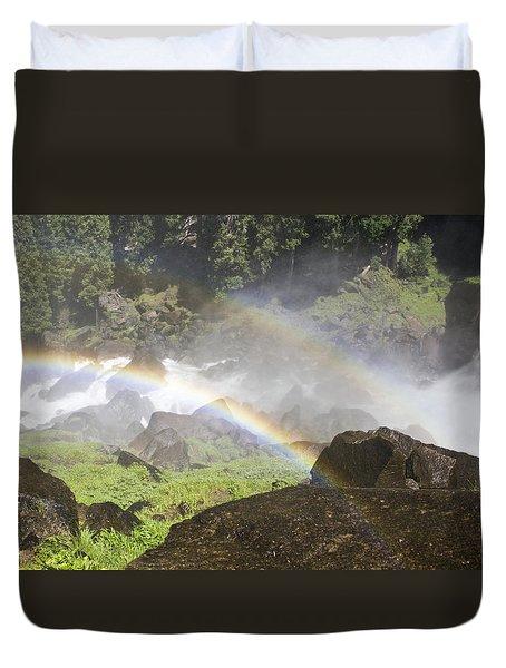 Rainbow Twins Duvet Cover