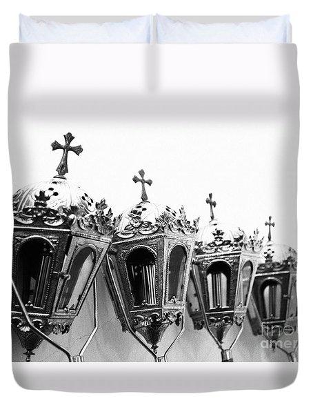 Religious Artifacts Duvet Cover by Gaspar Avila