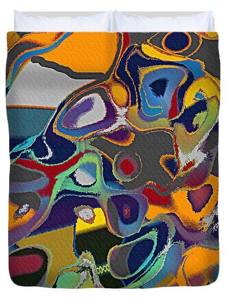 Retro Duvet Cover by Thomas Bryant