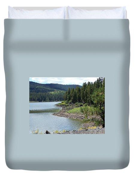 River Reservoir Duvet Cover