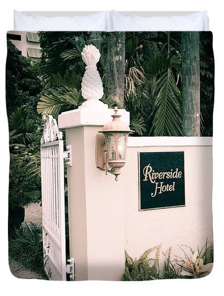 Riverside Hotel Duvet Cover