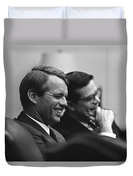 Robert Kennedy Duvet Cover by War Is Hell Store