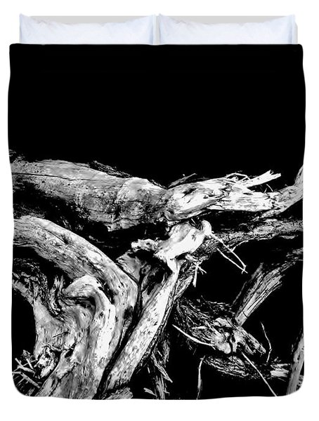 Duvet Cover featuring the photograph Roots 1 by Amar Sheow