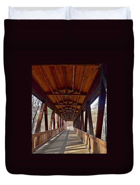 Roswell Bridge Duvet Cover