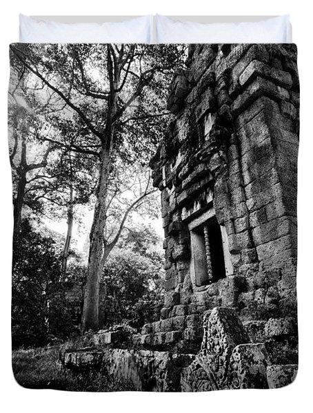 Ruin At Angkor Wat Duvet Cover