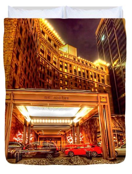 Saint Paul Hotel Duvet Cover