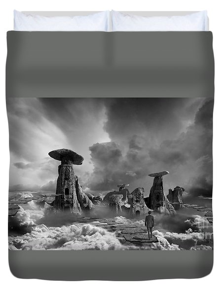 Sky City Casino Duvet Cover