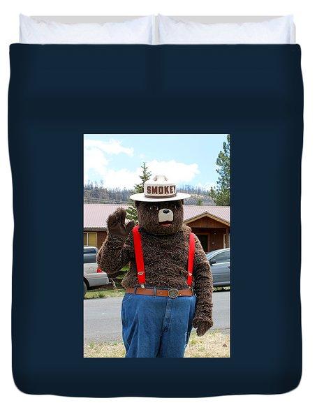 Smokey The Bear Duvet Cover