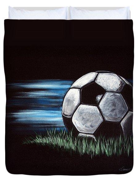 Soccer Ball Duvet Cover