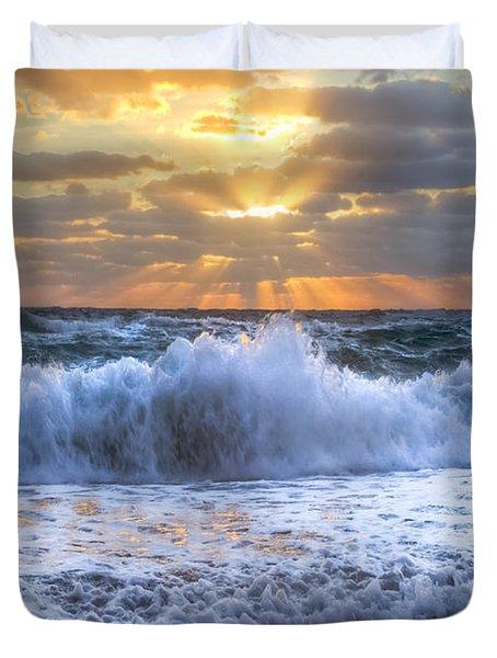 Splash Sunrise Duvet Cover