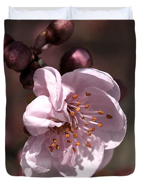 Duvet Cover featuring the photograph Spring Blossom by Joy Watson