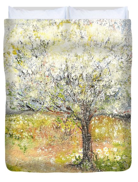 Spring Duvet Cover by Evelina Popilian