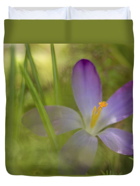 Spring Haze Duvet Cover by Caitlyn  Grasso