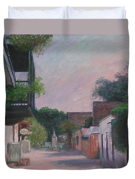 St. George Street Duvet Cover