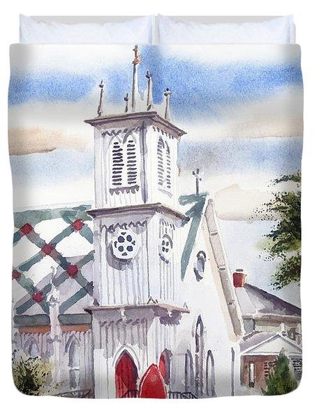 St Pauls Episcopal Church  Duvet Cover