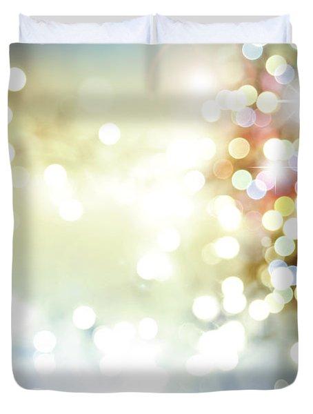 Starry Background Duvet Cover