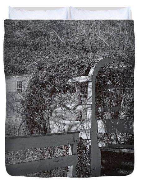 Strawbery Banke  Duvet Cover by Joann Vitali