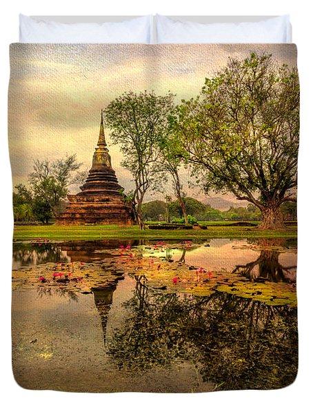 Sukhothai Historical Park Duvet Cover